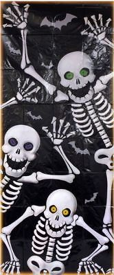 Halloween Skeleton Decoration Door Cover 30