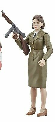 """Marvel Legends 6"""" MCU 80 Years Peggy Carter from First Avenger 2 Pack Loose New"""