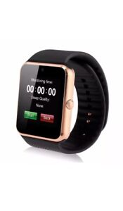 New smart watch works with iPhone Samsung lg htc & 512mb sd card