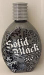 Millennium Solid Black 100X Bronzer Indoor Dark Tanning Lotion