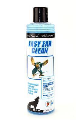 Wild Animal Easy Ear Clean 11.5 oz. - Dog Ear Cleaner-Cat/Pet Ear Cleaner