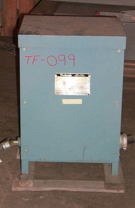 Jefferson 30 KVA 480-208y/120 Dry Type Transformer
