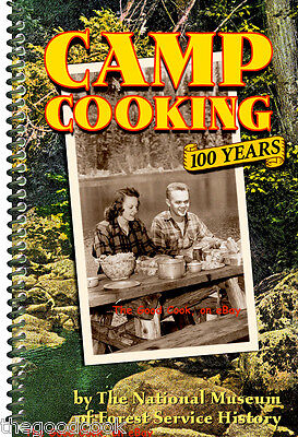 Camp Cooking Dutch Oven & Cast Iron Skillet Recipes Cookbook Trail Hiking Cowboy
