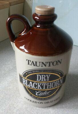Vintage Taunton Dry Blackthorn Cider Keg Pottery Bar Font Top Pump head