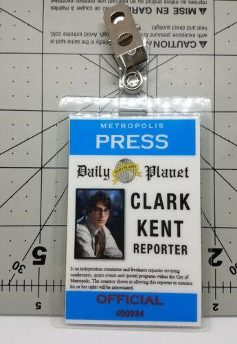 Superman Returns ID Badge-Clark Kent Reporter costume prop cosplay