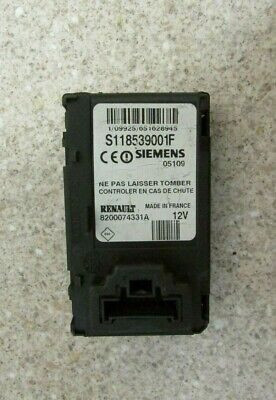 RENAULT MEGANE/CLIO IGNITION CARD READER S118539001F 8200074331A