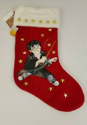 Vtg 2000 Kurt Adler Harry Potter Velvet Christmas Stocking w/Original Tags 18""