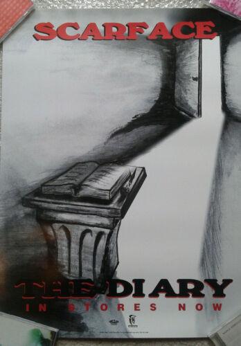 Scarface The Diary original hip hop rap promo poster 1994 18x24 geto boys
