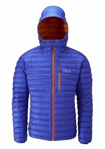 Rab Microlight Alpine Jacket, Mens , Electric Blue, Size Medium