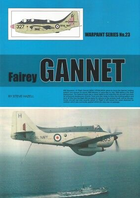 Fairey Gannet, British ASW aircraft (Warpaint No 23) for sale  Shipping to Canada