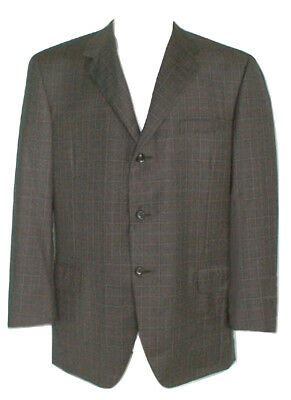 NEW! Brioni Pure Silk Sportcoat (Jacket)! 46 L e 56 L *Nomentano Model*  *Brown*