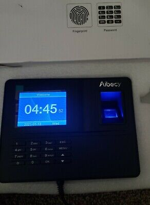 Biometric Fingerprint Attendance Time Clock