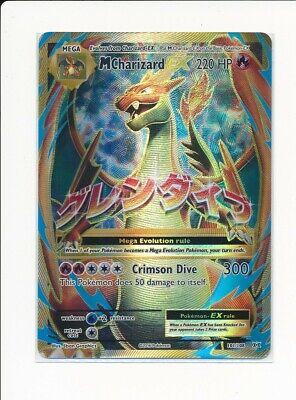 Pokemon Mega-Charizard-EX - 101/108 - Full Art Ultra Rare XY - Evolutions