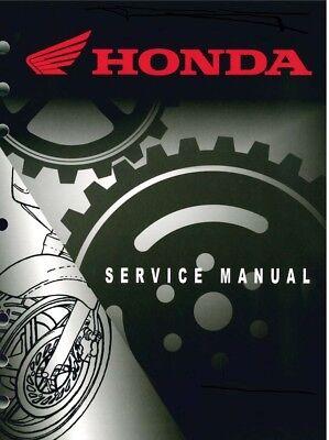 Honda CRF250 R workshop manual 2014-2017