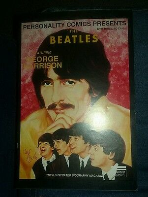 Personality Comics Limited Edition Featuring George Harrison the beatles cd tape