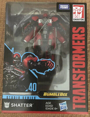 Transformers Studio Series SHATTER Deluxe Class #40 Bumblebee Movie Sealed