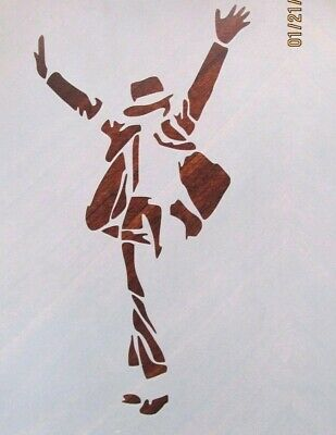 Michael Jackson Stencil for Airbrush, Crafting, Artwork, etc... - Michaels Stencils