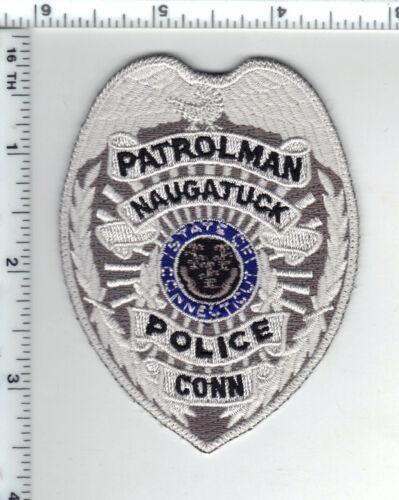 Naugatuck Police (Connecticut) Shirt/Jacket Patch - new
