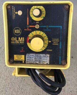 Lmi Milton Roy Metering Pump B731-72s Electromagnetic Dosing Pump Works Fast Sh