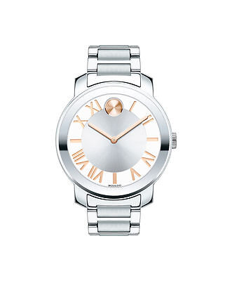 Movado Bold 3600196 Silver Dial Stainless Steel Unisex Watch