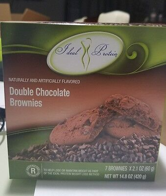 Ideal protein Double Chocolate Brownies  bundle of 2 Boxes