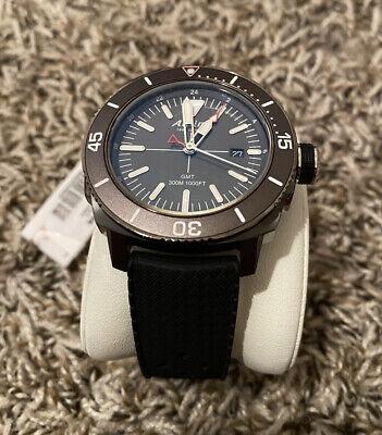 NEW ALPINA Men's Seastrong Diver Quartz Grey Dial Watch AL-247LGG4TV6