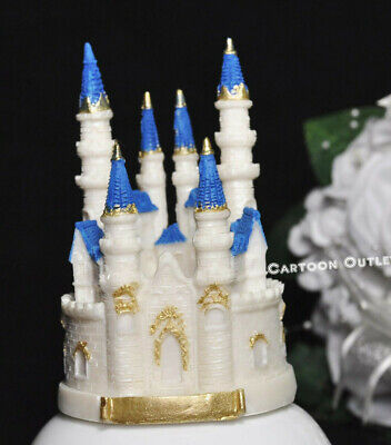 BIRTHDAY PARTY PRINCESS CASTLE CAKE TOPPER SMALL WEDDING QUINCEANERA SWEET 16  16 Birthday Cake