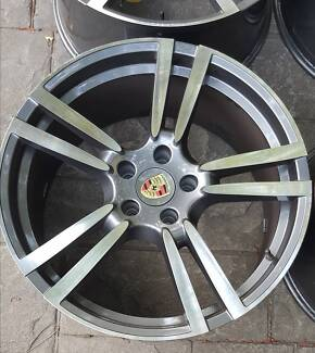 "Porsche Cayenne 22"" inch wheels rims. Maybe BMW Mercedes Audi VW North Parramatta Parramatta Area Preview"