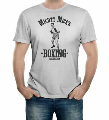 Mighty Mick's Boxing Gym T-Shirt - Funny t shirt retro fight fashion ring -