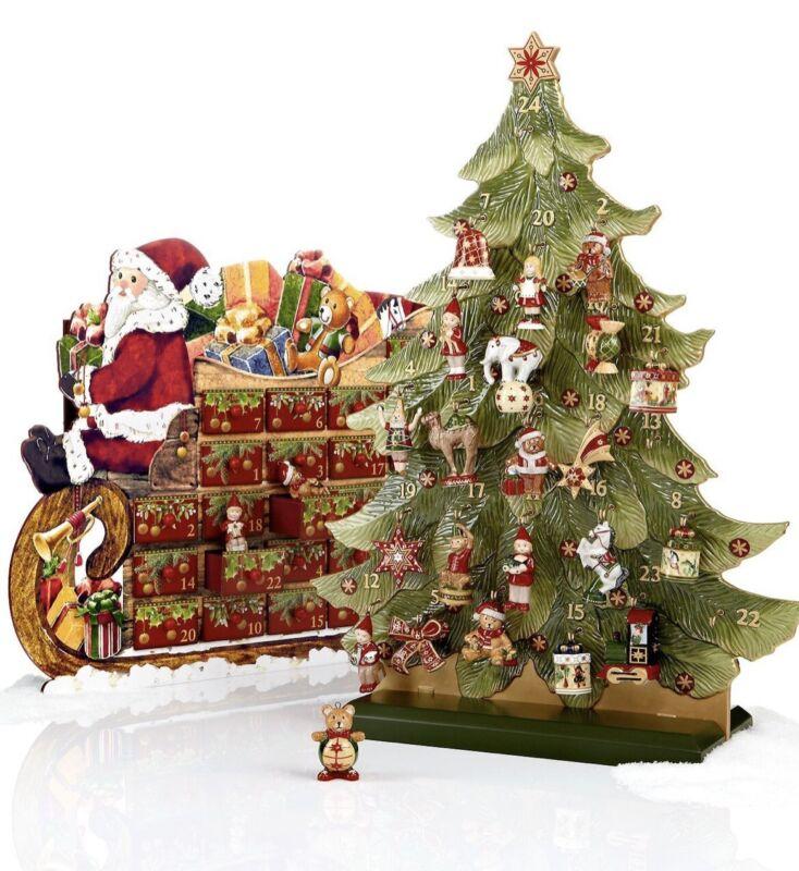 Villeroy & Boch Advent Calendar, Christmas Decoration