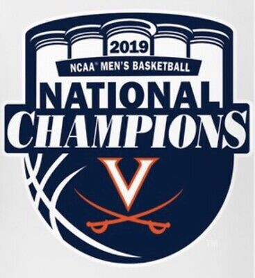 2019 VIRGINIA CHAMPIONS Patch Official Jersey NATIONAL CHAMPIONSHIP NCAA Iron On