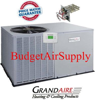 5 Ton 14 seer  ICP/Grandaire Model A/C Package unit + Heat strip
