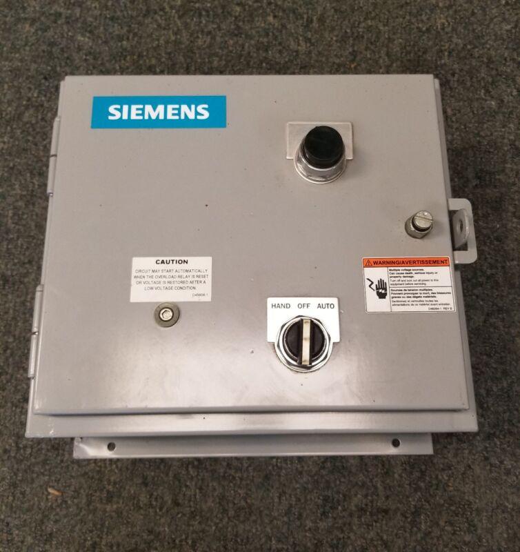 Siemens 14CSD120F Heavy duty motor starter
