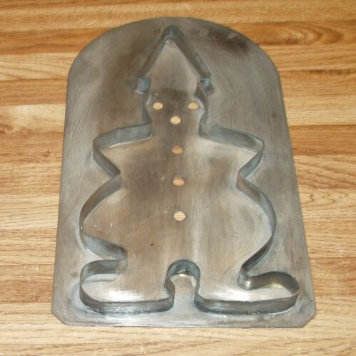 Vintage Pfaltzgraff Tinsmith Large Tin Clown Cookie Cutter