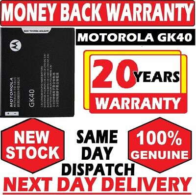 MOTOROLA GK40 BATTERY FOR MOTO G4 PLAY / MOTO G5 XT1607  XT1609 Genuine 2800mah
