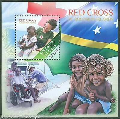 SOLOMON ISLANDS  2013 RED CROSS   SOUVENIR SHEET MINT NH
