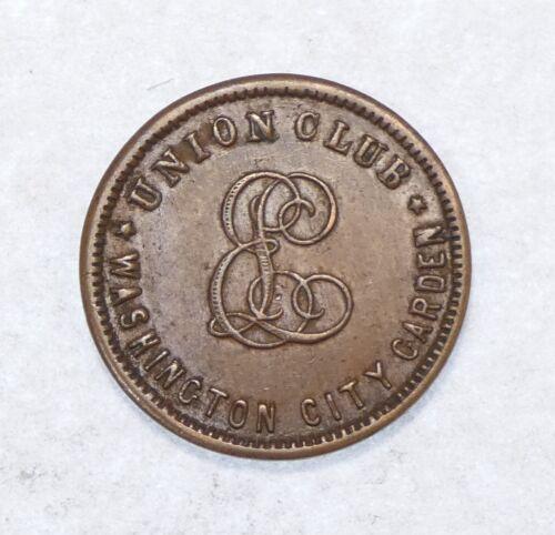 Washington D.C. Union Club Good For Token
