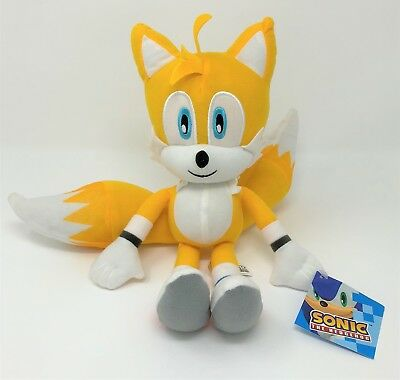 New Sonic Miles Tails Prower 13  Plush Stuffed Licensed Authentic Sega Kids Toys