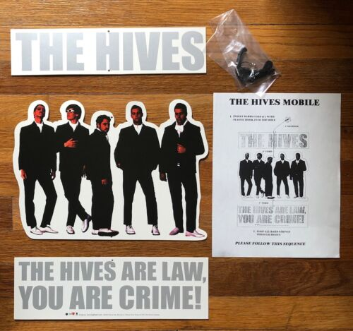 The Hives Your New Favourite Band RARE promo mobile