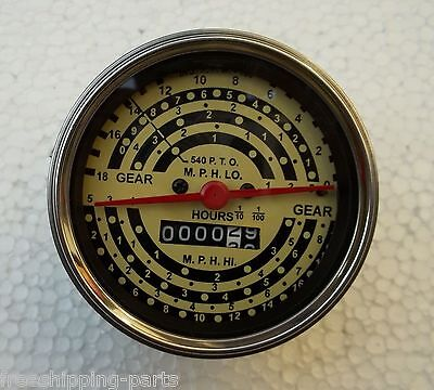 Minneapolis Moline Tractor Tachometer Firs - Early M670 Gasdiesel M5m602m604