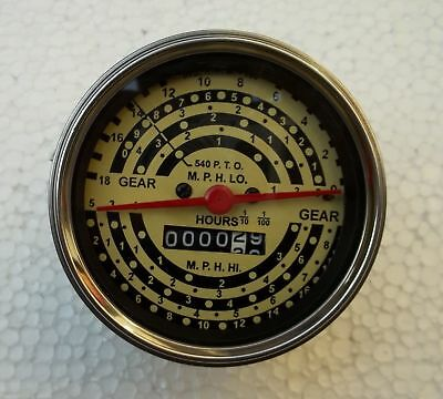 Minneapolis Moline Tractor Tachometer Firs Early M670 Gas Diesel M5 M602 M604