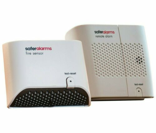 Safer Home Battery-Operated Heat Detection Fire Alarm System - 1 Pack