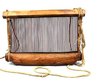 Art African - Wide Guide Yarn Occupation in Loom Akan - Antique & Unusual - 28