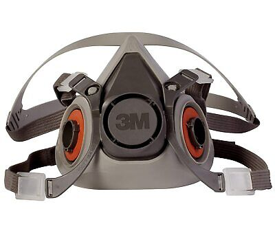 3m 6200 Medium Half Facepiece Reusable Respirator New Free Shipping.