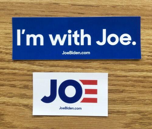 Joe Biden for President 2020 Campaign Bumper Sticker Lot