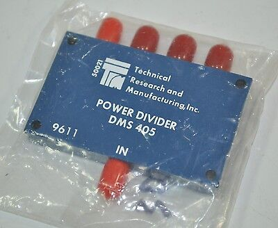 Technical Research And Manufacturing Power Divider Splitter Model Dms-405