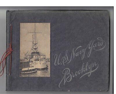 U.S. Navy Yard Brooklyn (USA 1904) - Fotos der US Militärwerft in New York
