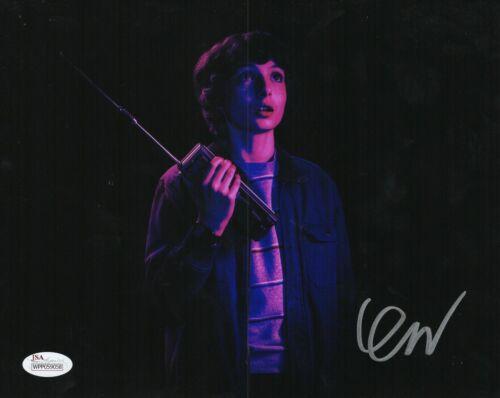 "Finn Wolfhard Autograph Signed 8x10 Photo - Stranger Things ""Mike"" (JSA COA)"