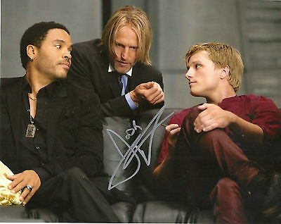 Josh Hutcherson Hunger Games Peeta Signed 8X10 Picture 1