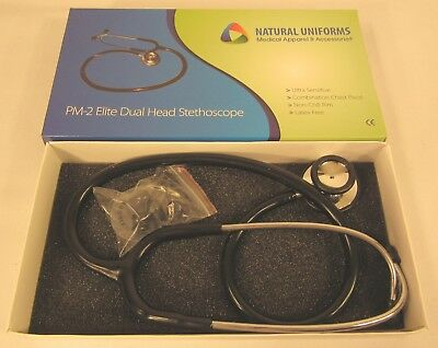 Natural Uniforms Elite Dual Head Stethoscope Pm-2 Fda Certified Parts Kit